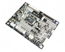 Multi-functional industrial LCD A/D board